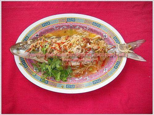 ปลาโอวฮื้อนึ่งบ้วย
